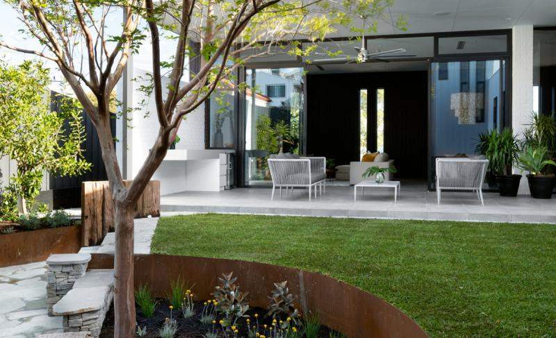 Humphrey Homes Mosman Park architect residence central courtyard