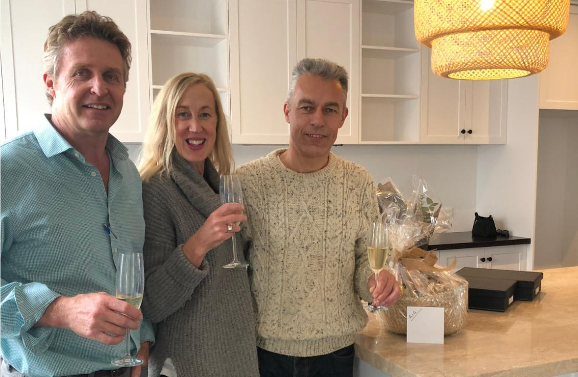 Dean Humphrey with Mosman Park clients