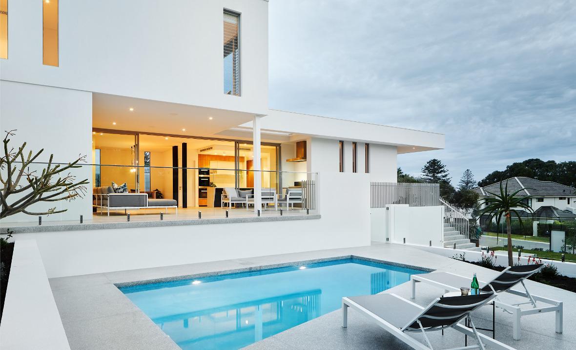 Humphrey Homes City Beach architect residence