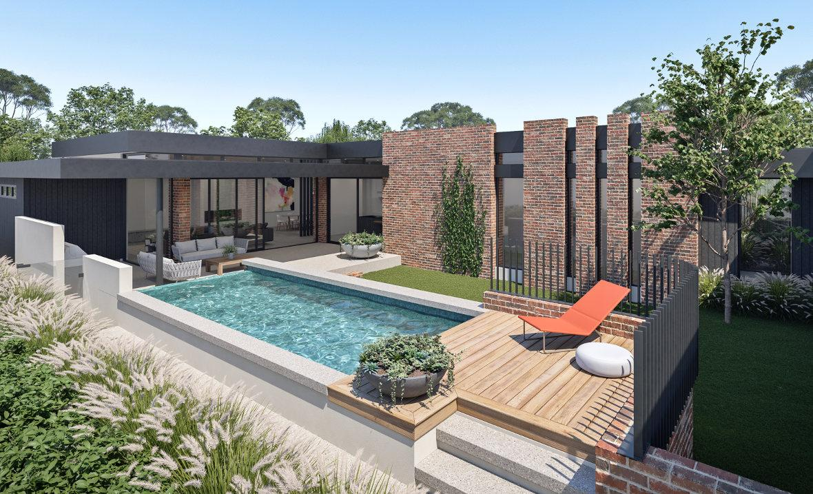 Humphrey Homes Perth architect Mosman Park recycled bricks